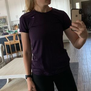 Purple Nike Dri-Fit Top